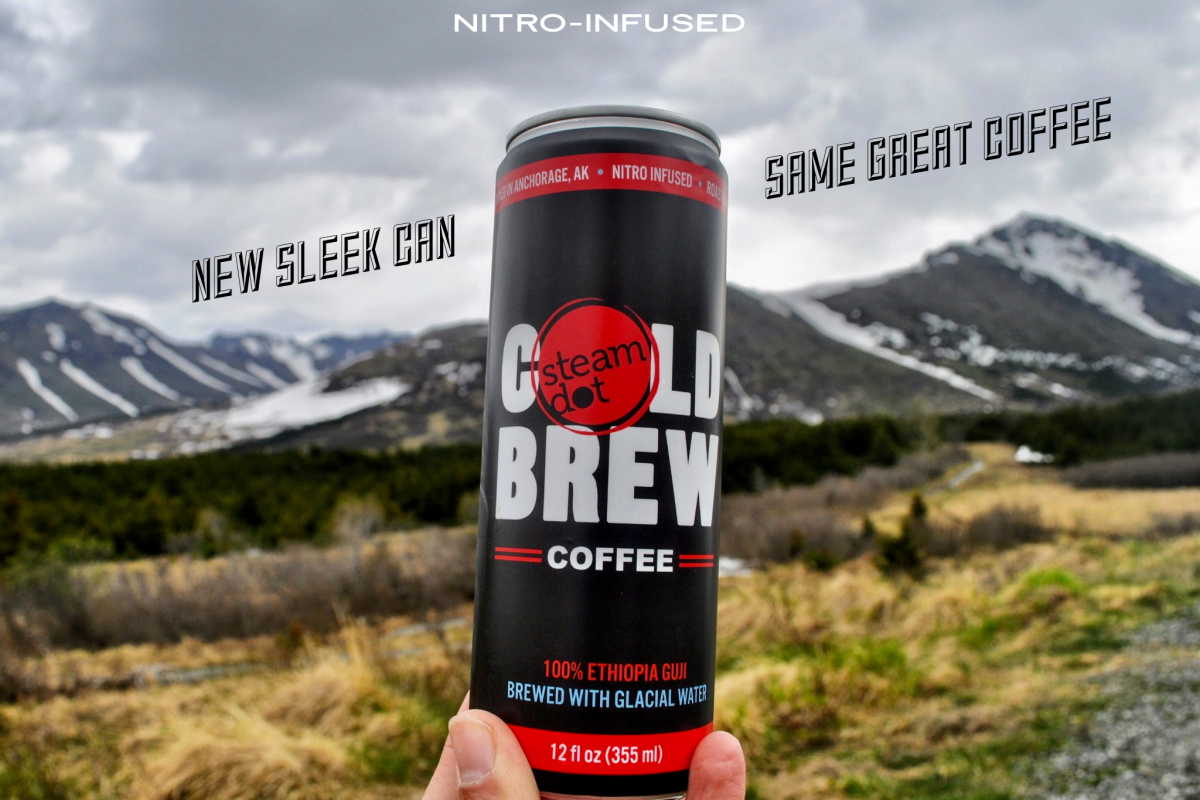 SteamDot Nitro-Infused Cold Brew