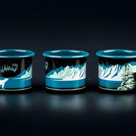 SteamDot – 8 cm mug – black – (1)
