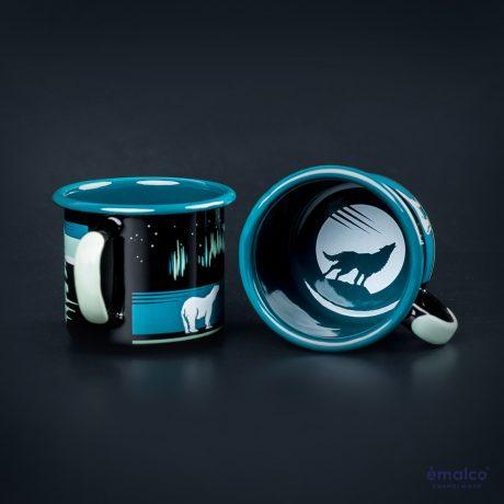 SteamDot – 8 cm mug – black – (2)