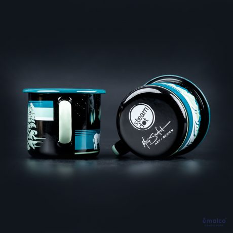 SteamDot – 8 cm mug – black – (3)