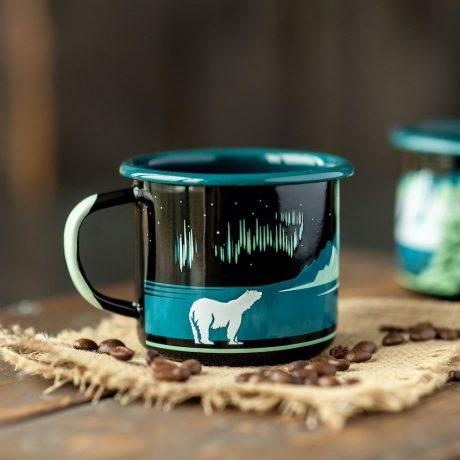 SteamDot – 8 cm mug – black – (4)